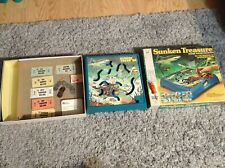 Sunken Treasure Battery Opperated Game Milton Bradley 1976 Tested and Working