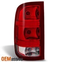 Fit 2007-2013 Sierra Fleetside Tail Light Lamp Driver Left Side Replacement