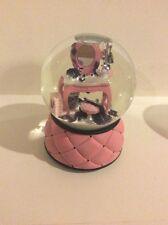 "RARE Victoria's Secret ""Beauty Ball"" Musical Snow Globe Glitter ""La Vie en Rose"""