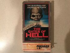 The Gates of Hell (VHS, 1985, Paragon Video) - Tape has Mold
