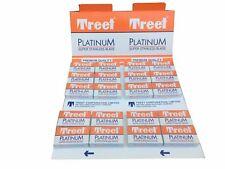 100 Treet Platinum double edge razor blades