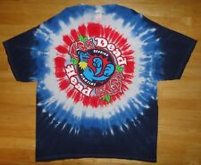 READING FIGHTINS FIGHTIN PHILS PHILLIES Tie Dye Grateful DEAD HEAD Shirt - 2XL