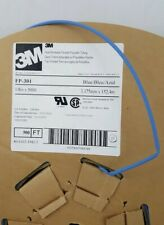 3M FP301-1/8-500'-Blue-Spool Heat Shrink Flexible Thin-Wall Tubing
