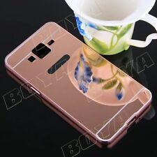 Luxury Aluminium Phone Protective Case Metal Bumper Soft Mirror Back Cover Skin