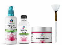 40% Glycolic Acid Skin Peel Kit + Glycolic Cleanser + Recovery Cream + BRUSH