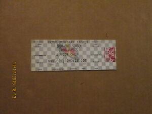 CSHL Grand Rapids Junior Owls Vintage Defunct Complimentary Full Hockey Ticket