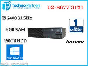 Lenovo ThinkCenter M91P 4518 SFF Desktop Computer i5-2400 3.1G 4G 160G Win 10 Pr