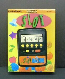 Vintage RadioShack Handheld Slot Machine Game 60-2652  1996 With Manual Age 12+