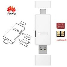 Huawei 2in1 NM Nano Card + Micro SD Card Reader with USB Type-A and Type-C Port