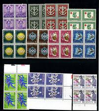 Zuschlagsmarken Viererblocks Postfrisch VIERERBLOCKS (G768)