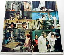 LAST OF THE MOBILE HOT SHOTS 8 x 10 Color Film Stills Lot Of 8 1970 James COBURN
