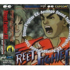 Street fighter Music Soundtrack Japanese Cd Game Street fighter Ex