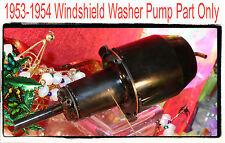 Corvette   1954  Glass Jar Windshield  Washer Jar pump Attaches to Lid