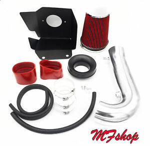 Red For 2011-2020 Jeep Grand Cherokee 5.7L V8 Heat Shield Cold Air Intake Kit