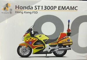 Tiny City No.90 Honda ST1300P EMAMC Hong Kong Fire Service Deparetment