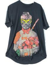American Rag Samurai Black Tshirt Mens Size XL