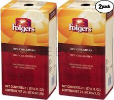 Folgers Liquid Coffee 100% Colombian 2/2 Lit Replaces Douwe Egberts  Colombian
