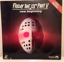 Friday the 13th Part 5: A New Beginning (1985) [LV 1823] LASERDISC HORROR JASON