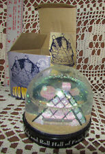 Rock & Roll Hall Of Fame & Museum 1995 SNOWDOME w Box LE Numbered Cleveland OH