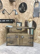Salvaged  Up-Cycled TV Stand