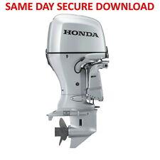 Honda BF15D BF20D Outboard Motor Service Manual (Repair) - FAST ACCESS