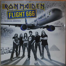 "Iron Maiden 'Flight 666: The Original Soundtrack' Gatefold 2x12"" Black Vinyl"