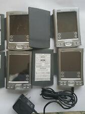 Lot Of 4 Palm Tungsten T2 Handheld Pda Organizer Mp3 Bluetooth
