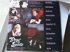 RARE Soundtrack LP 'Dogs In Space'  Near Mint Vinyl, Brian Eno, Iggy Pop 1986