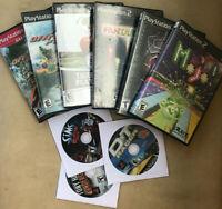 Lot (9) Sony PlayStation 2 PS2 Video Games Spider-Man 3 Sims ATV Mojo PGA Tour