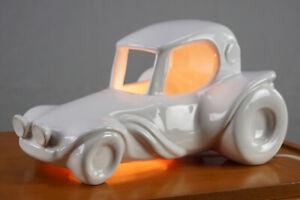 80er Table Lamp Floor Lamp Car Vintage Dragster Porcelain Lamp Light 80s