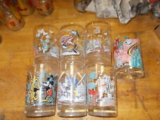 7 Mcdonalds Disney Character Glasses