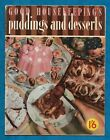 """1950 """"GOOD HOUSEKEEPING"""" RECIPE BOOKLET P/B """"PUDDINGS AND DESSERTS"""""""