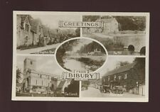 Gloucester Glos BIBURY Greetings from M/view RP PPC Used 1933