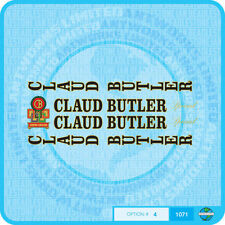 Claud Butler Bicycle Decals Transfers Stickers - Set 4
