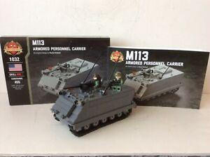 Brickmania Vietnam US M113 Armored Personnel Carrier W/ Figures Mint New