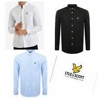 Lyle and Scott Mens Brand New Dress top Shirt fashion designer stylish Slim Fit