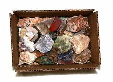 3 Pounds Assorted 1 to 2 Inch Rock Stones Tumble Tumbler Tumbling Cab Rough Mix