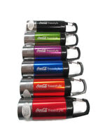 Coca-Cola Freestyle Flashlight Lantern with Built-In Carabiner Clip  - BRAND NEW