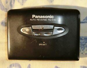 Panasonic RQ-X10 Portable Cassette Player (Serviced)