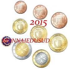 Série 1 Cent à 2 Euro BU Malte 2015 - Série Brillant Universel