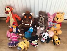 Large Joblot Bundle Of Soft Plush Disney & Tv Film Character Toy Teddys Bundle 3