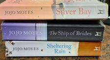 Jojo Moyes 3 book bundle - Sheltering Rain, Ship of Brides, Silver Bay