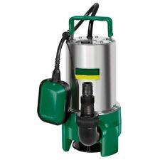 Schmutzwasserpumpe 550 W Edelstahl Tauchpumpe 12500 l/h aus d. Hause Einhell