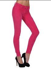 "BLANK NYC Women's ""Spray On"" Super Skinny Jeans Pants Barbie Girl Pink Sz 26 NWT"