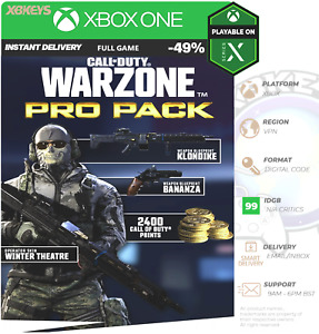 Call of Duty Warzone - Pro Pack Xbox One Series X S Digital DLC ✨OFFICIAL ✅ VPN