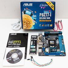 ASUS P8Z77-I Deluxe/WD LGA 1155 Intel Z77 HDMI SATA USB 3.0 Mini ITX Motherboard