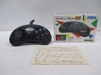Mega-Drive Genesis -- Fighting Pad 6B SJ-6000 Controller -- Box. JAPAN. 13237