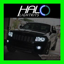 2011-2013 Jeep Grand Cherokee WHITE LED Headlight+Fog Halo Ring Kit by Oracle