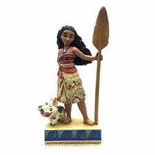 Jim Shore Disney Traditions Moana and Pua Find Your Own Way 4056754 NEW NIB