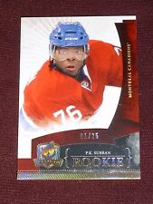 10-11 The CUP PK Subban GOLD PARALLEL ROOKIE RC 1/25 First 1/1 (Fading on back?)